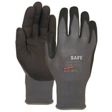 M-Safe Nitri-Tech Foam 14-690 handschoen
