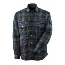 Thermal Shirt quilted plaid flannel