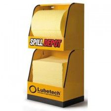 Lubetech Spill Depot-2 duo dispenser