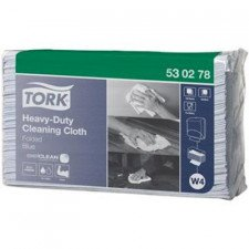 Tork Heavy-Duty Cloth Folded Blue werkdoek