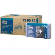 Tork Industrial Heavy-Duty Paper Folded Blue poetsdoek