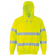 SWEATSHIRT HOODED HI-VIS B304